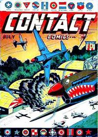 Cover Thumbnail for Contact Comics (Aviation Press, 1944 series) #1