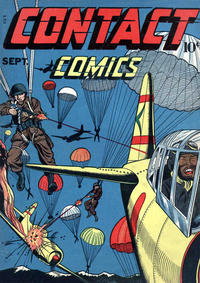 Cover Thumbnail for Contact Comics (Aviation Press, 1944 series) #2