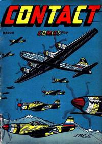 Cover Thumbnail for Contact Comics (Aviation Press, 1944 series) #5