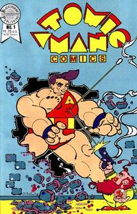 Cover Thumbnail for Atomic Man Comics (Blackthorne, 1986 series) #1