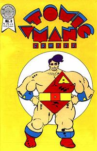 Cover Thumbnail for Atomic Man Comics (Blackthorne, 1986 series) #3