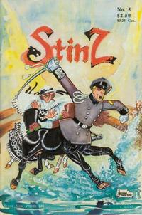 Cover Thumbnail for Stinz (Brave New Words, 1990 series) #5