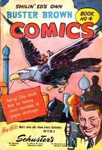 Cover for Buster Brown Comic Book (Brown Shoe Co., 1945 series) #4