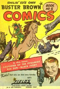 Cover Thumbnail for Buster Brown Comic Book (Brown Shoe Co., 1945 series) #5