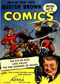 Cover Thumbnail for Buster Brown Comic Book (Brown Shoe Co., 1945 series) #7