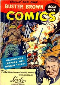 Cover Thumbnail for Buster Brown Comic Book (Brown Shoe Co., 1945 series) #8