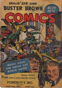 Cover Thumbnail for Buster Brown Comic Book (Brown Shoe Co., 1945 series) #9