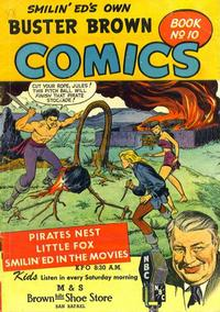 Cover Thumbnail for Buster Brown Comic Book (Brown Shoe Co., 1945 series) #10