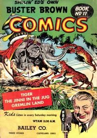 Cover Thumbnail for Buster Brown Comic Book (Brown Shoe Co., 1945 series) #11