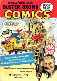 Cover Thumbnail for Buster Brown Comic Book (Brown Shoe Co., 1945 series) #12