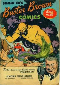 Cover Thumbnail for Buster Brown Comic Book (Brown Shoe Co., 1945 series) #15