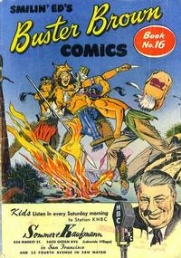 Cover Thumbnail for Buster Brown Comic Book (Brown Shoe Co., 1945 series) #16