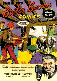 Cover Thumbnail for Buster Brown Comic Book (Brown Shoe Co., 1945 series) #20