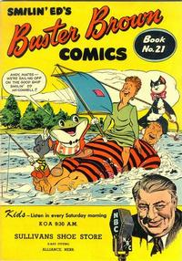 Cover Thumbnail for Buster Brown Comic Book (Brown Shoe Co., 1945 series) #21