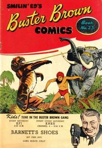 Cover Thumbnail for Buster Brown Comic Book (Brown Shoe Co., 1945 series) #23
