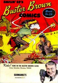 Cover Thumbnail for Buster Brown Comic Book (Brown Shoe Co., 1945 series) #24