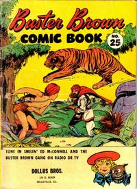 Cover Thumbnail for Buster Brown Comic Book (Brown Shoe Co., 1945 series) #25
