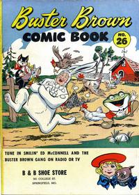 Cover Thumbnail for Buster Brown Comic Book (Brown Shoe Co., 1945 series) #26