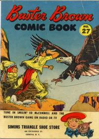 Cover Thumbnail for Buster Brown Comic Book (Brown Shoe Co., 1945 series) #27