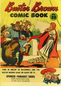 Cover Thumbnail for Buster Brown Comic Book (Brown Shoe Co., 1945 series) #28