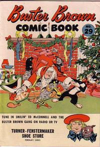 Cover Thumbnail for Buster Brown Comic Book (Brown Shoe Co., 1945 series) #29