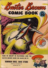 Cover Thumbnail for Buster Brown Comic Book (Brown Shoe Co., 1945 series) #30