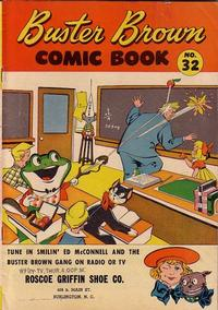 Cover Thumbnail for Buster Brown Comic Book (Brown Shoe Co., 1945 series) #32
