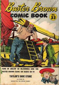 Cover Thumbnail for Buster Brown Comic Book (Brown Shoe Co., 1945 series) #33