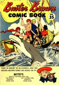 Cover Thumbnail for Buster Brown Comic Book (Brown Shoe Co., 1945 series) #35