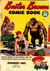 Cover Thumbnail for Buster Brown Comic Book (Brown Shoe Co., 1945 series) #36
