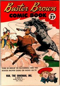 Cover Thumbnail for Buster Brown Comic Book (Brown Shoe Co., 1945 series) #37