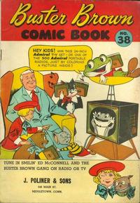Cover Thumbnail for Buster Brown Comic Book (Brown Shoe Co., 1945 series) #38
