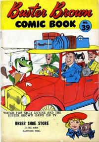 Cover Thumbnail for Buster Brown Comic Book (Brown Shoe Co., 1945 series) #39