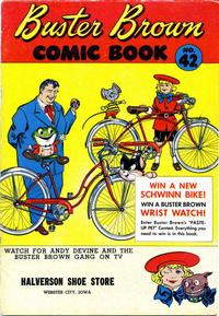 Cover Thumbnail for Buster Brown Comic Book (Brown Shoe Co., 1945 series) #42