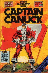 Cover Thumbnail for Captain Canuck (Comely Comix, 1975 series) #1