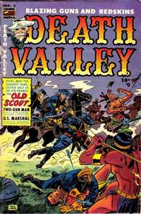 Cover Thumbnail for Death Valley (Comic Media, 1953 series) #6