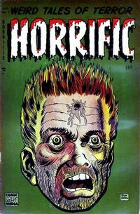 Cover Thumbnail for Horrific (Comic Media, 1952 series) #3