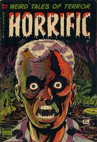 Cover Thumbnail for Horrific (Comic Media, 1952 series) #5