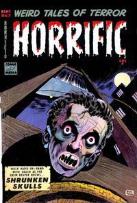 Cover Thumbnail for Horrific (Comic Media, 1952 series) #7