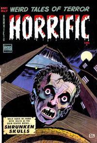 Cover for Horrific (Comic Media, 1952 series) #7