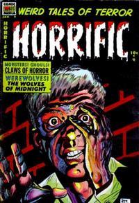 Cover Thumbnail for Horrific (Comic Media, 1952 series) #9