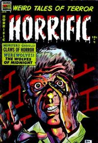 Cover Thumbnail for Horrific (Comic Media, 1952 series) #9