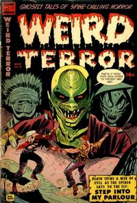 Cover Thumbnail for Weird Terror (Comic Media, 1952 series) #8