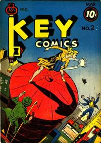 Cover Thumbnail for Key Comics (Consolidated Magazines, 1944 series) #2