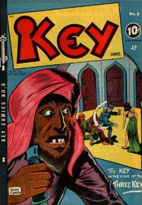 Cover Thumbnail for Key Comics (Consolidated Magazines, 1944 series) #5