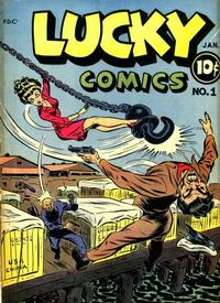 Cover Thumbnail for Lucky Comics (Consolidated Magazines, 1944 series) #1