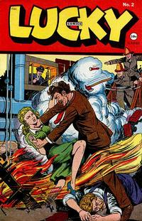 Cover Thumbnail for Lucky Comics (Consolidated Magazines, 1944 series) #2
