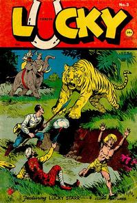 Cover Thumbnail for Lucky Comics (Consolidated Magazines, 1944 series) #3