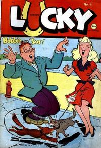 Cover Thumbnail for Lucky Comics (Consolidated Magazines, 1944 series) #4