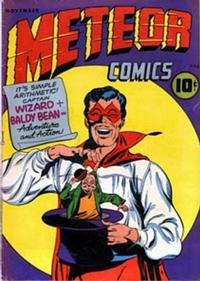 Cover Thumbnail for Meteor Comics (Rural Home, 1945 series) #1